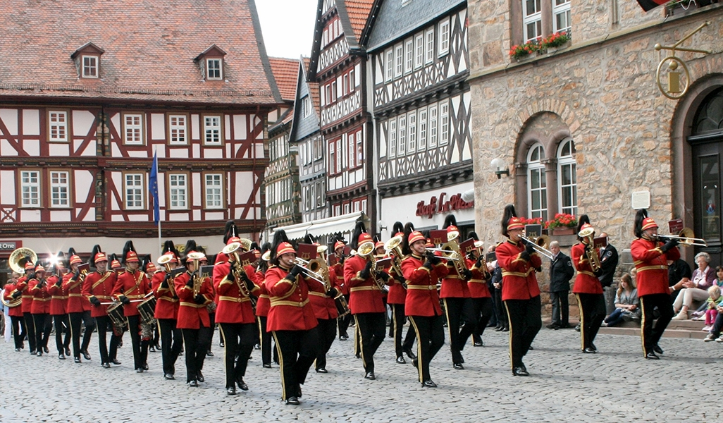 show- and brass band der FF Alsfeld