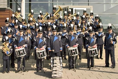 Marching Band der FF Bachrain